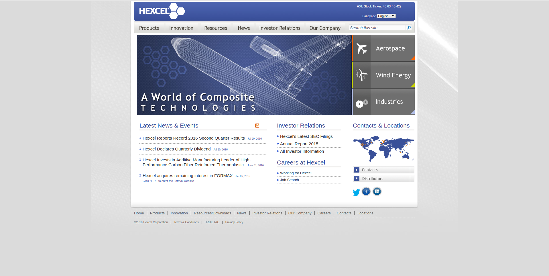 Hexcel Company Profile Office Locations Competitors Revenue Ingenicomm Inc Engineering Services Financials Employees Key People Subsidiaries News