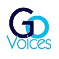 Go Voices logo