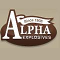 Alpha Explosives logo