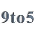 9 To 5 Computer Supply Distributors logo