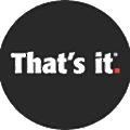 That's It. logo