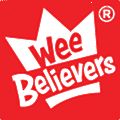 The Wee Believers Toy logo