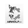 Airwolf 3D logo