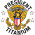 President Titanium logo