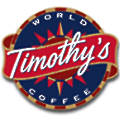 Timothy's Coffees logo