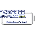 BatteriesInAFlash.com logo