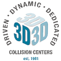 3D Collision Centers