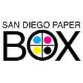San Diego Paper Box Company logo