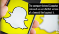 Snapchat maker unseals former employee's lawsuit: 'Snap has nothing to hide'